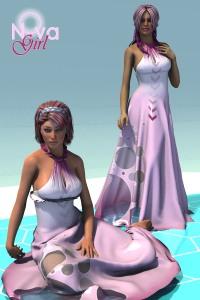 NovaGirl, a sci fi texture for Lovely Girl.